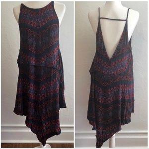 Free People Asymmetrical Open Back Dress (SM)